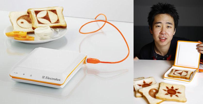 'Scan Toaster' diseño de Sung Bae Chang