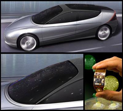Limpiaparabrisas con nanotecnología