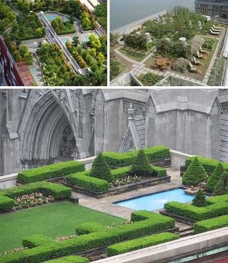 Dise o en la azotea 8 grandes jardines en el tejado for Diseno de jardines grandes