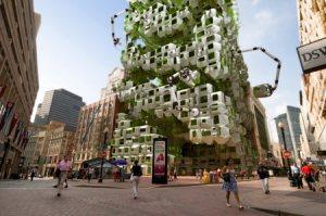 estructuras con plantas